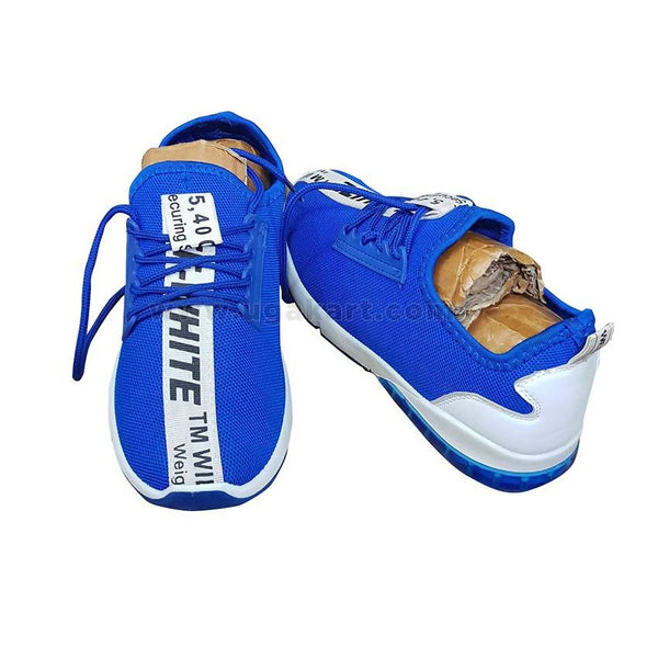Men's Low Top Mesh Shoes - Blue