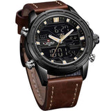 Navi Force Black Dial Analog & Digital Men's Watch