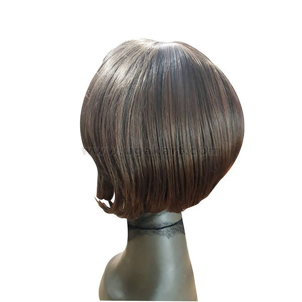 Human Hair Brown Wig