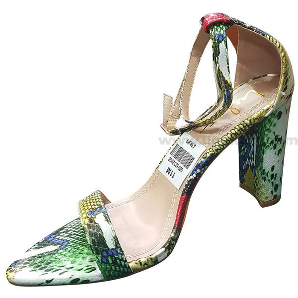 Mixed Colors Designed High Heels Sandal For Women