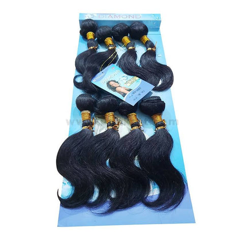 Human Hair-Black- 8 Pc With 8 Inch