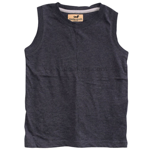 Kids Grey Armless T Shirt_4 years