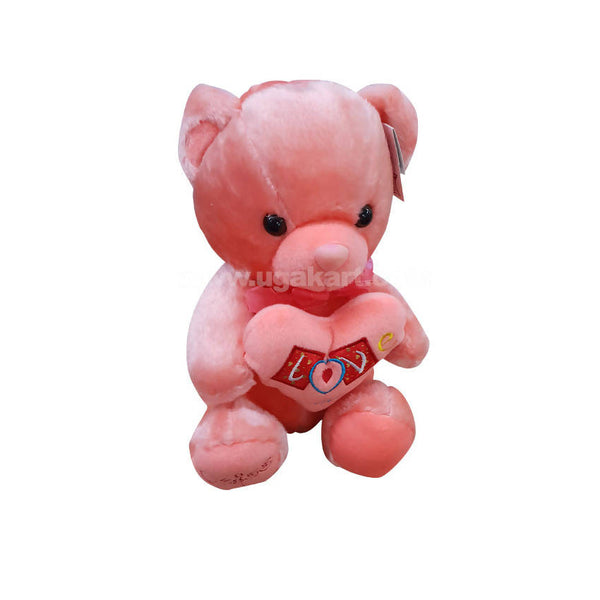 Peach Teddy Bear