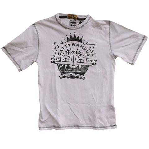 Kids White T Shirt _10years