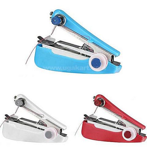 Portable Hand-Held Sewing Machine Clothes Fabric
