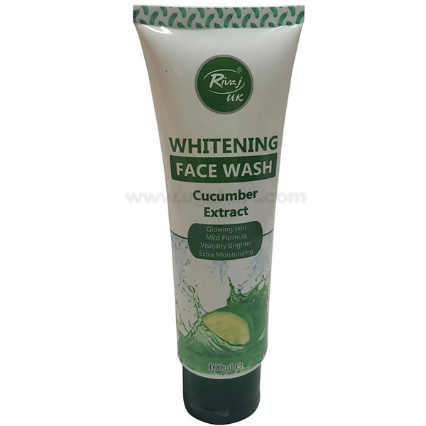 Whitening Face Wash with Cucumber Extract, 100ml