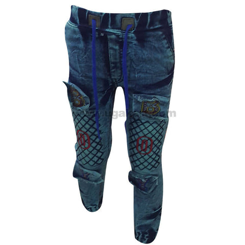 Navy Blue Faded Boy's Jean (5 to 8 yrs)