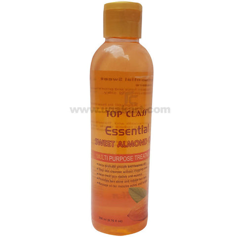 Top Class Essential Sweet Almond Oil Multi Purpose Treatment_200ML