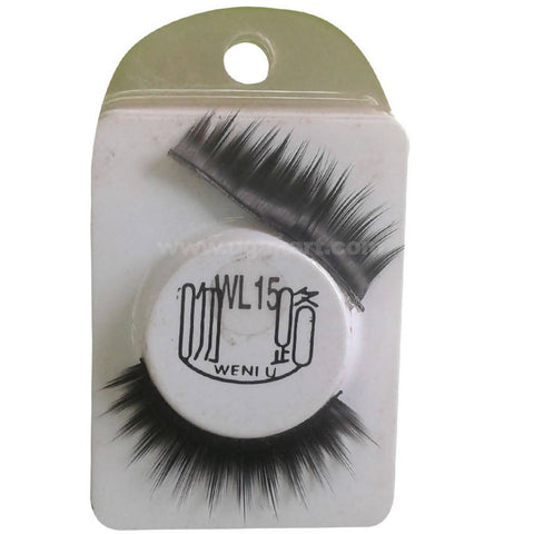 1 Pair Natural Soft Black Eye Lashes