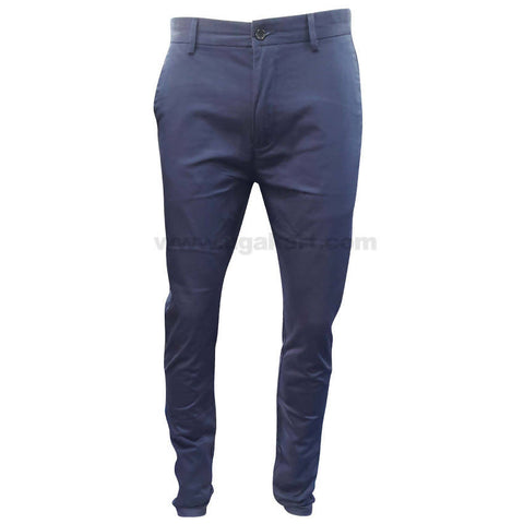 Blue Casual Trouser For Mens