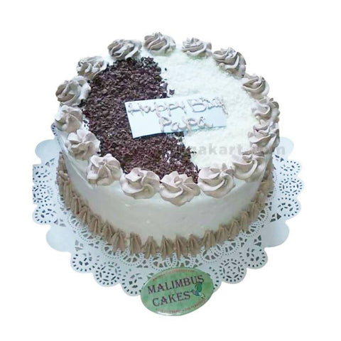 Black / White Forest Cake_(With Egg)