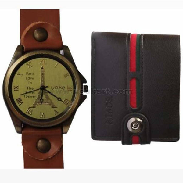 Two Pack Of York Watch and a Black Walle
