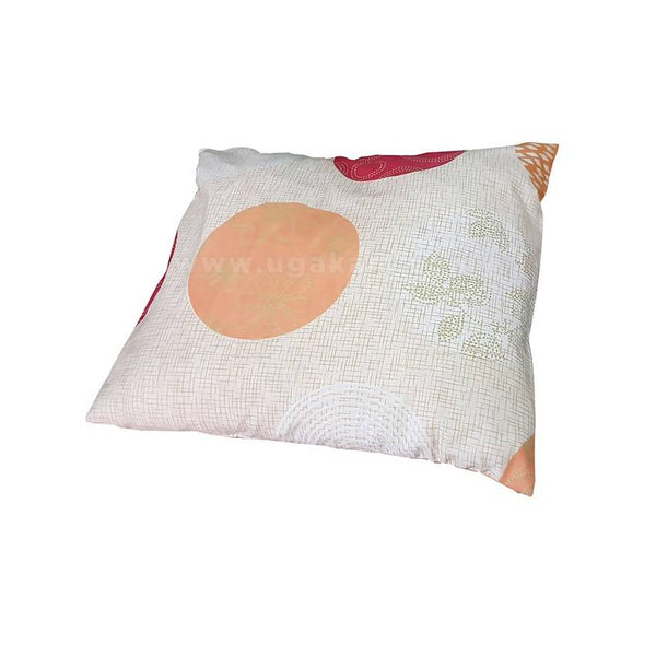 Fibre filled Cushion with Coloured Cotton Pillowcase