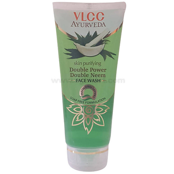 VLCC Ayurveda Double Power Double Neem FaceWash,100ml