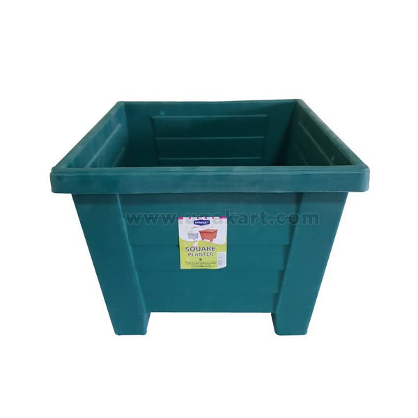 Kenpoly Square Planter No.6 - Dark Green