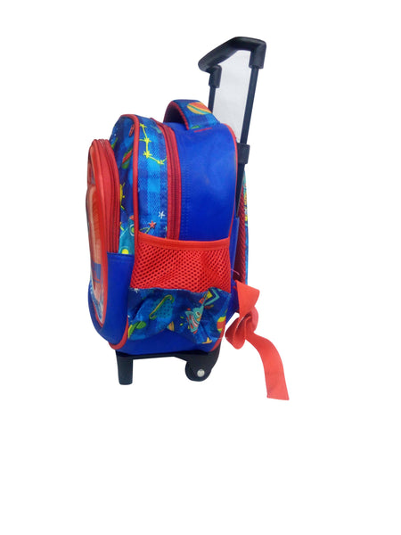 Red Blue School Bag For Kids