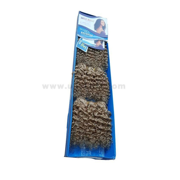 Human Hair Curl Weave-Golden- 4 Pc With 6 Inch