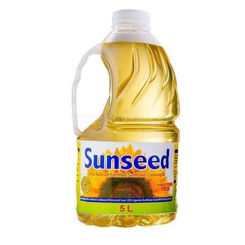 SUNSEED SUN FLOWER OIL 5L