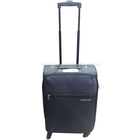 Kamiliant Black Spinner Luggage Suitcase (Small)