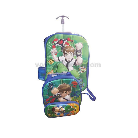 Ben 10 Kids Bag Set Of 3