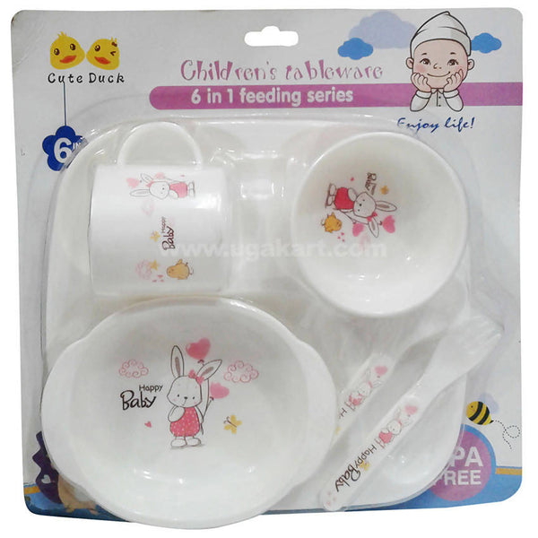 Happy Baby Children Tableware 6 in 1