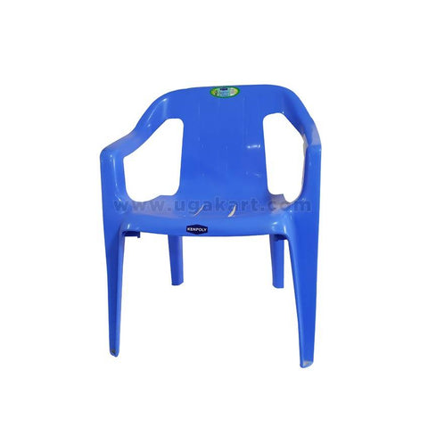 Kenpoly Plastic Chair - Blue
