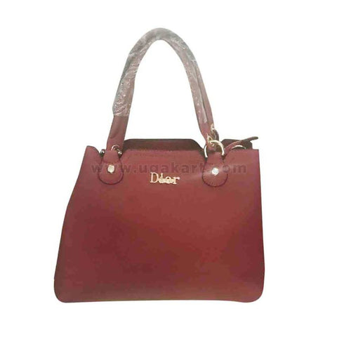 Dior Womens Hand bag Plain Red