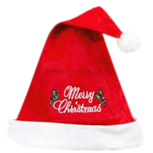 Father Christmas Cap 2pc