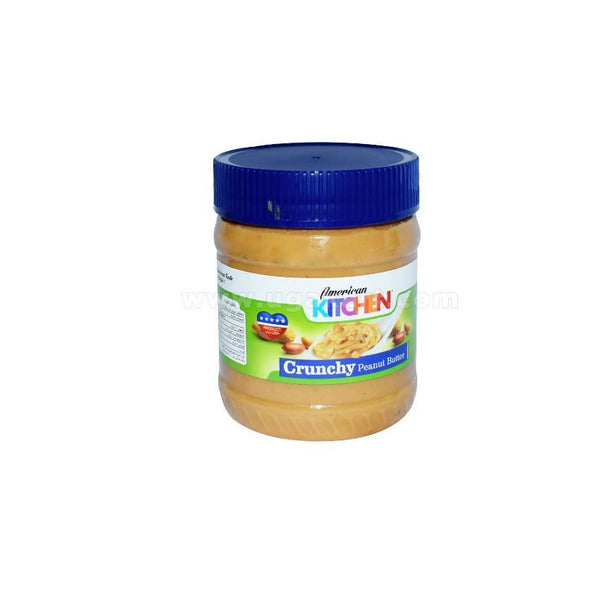 American Kitchen Crunchy Peanut Butter 340gms