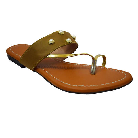 Brown Sandal For Womens