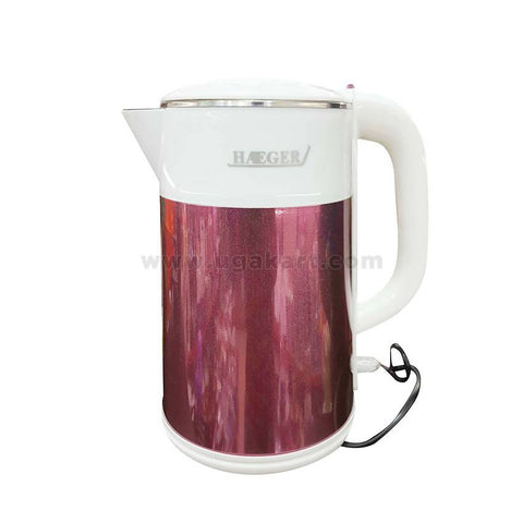 Haiger Electric kettle 2.5ltr -Maroon