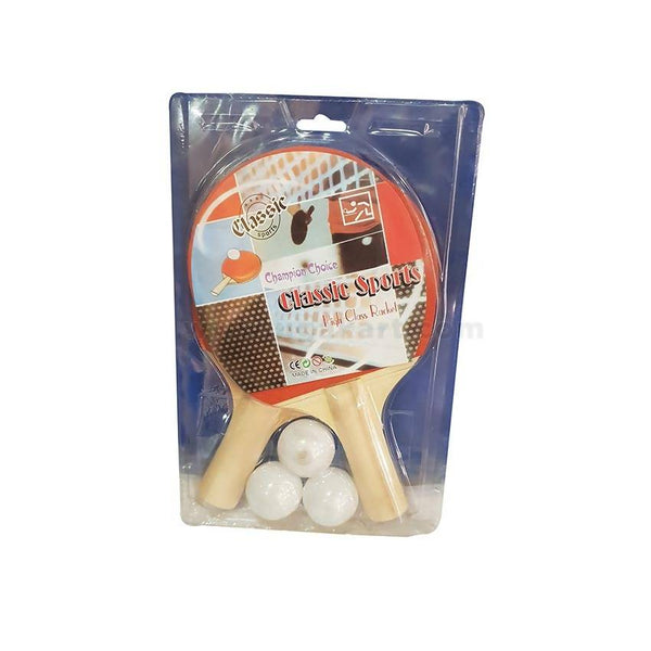 Table Tennis Rackets With Three Balls
