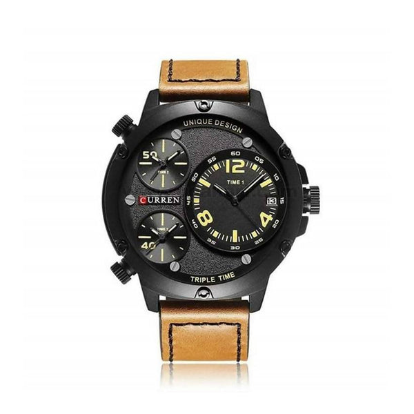 Curren Tripple Time Men's Watch