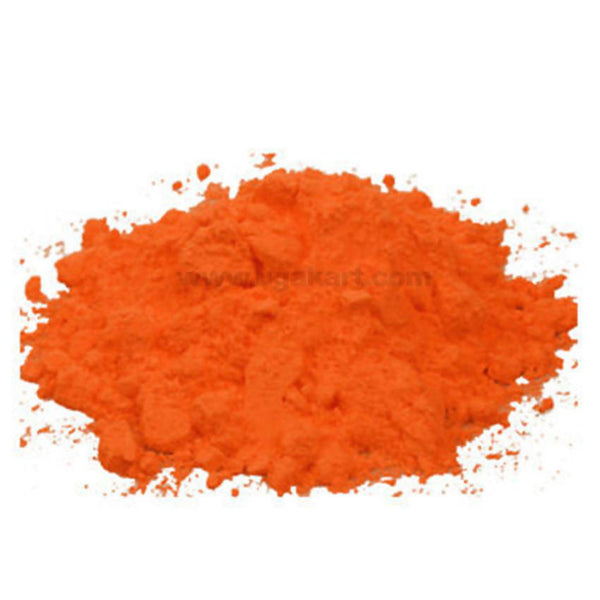 Rangoli Color Orange 3Pc