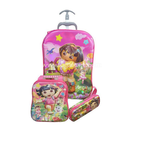 Dora Kids Bag Set Of 3