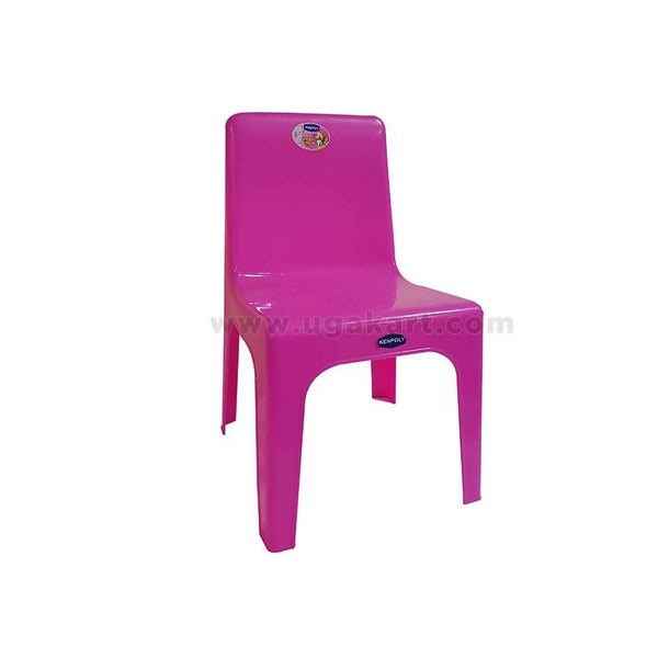 Kenpoly Small Plastic Chair - Pink