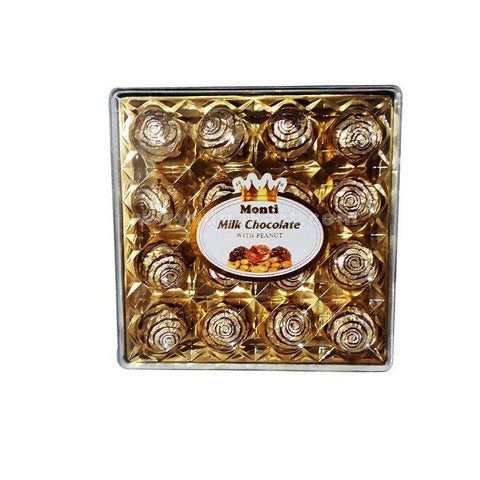 Monti Milk Chocolate With Peanut 16 PC