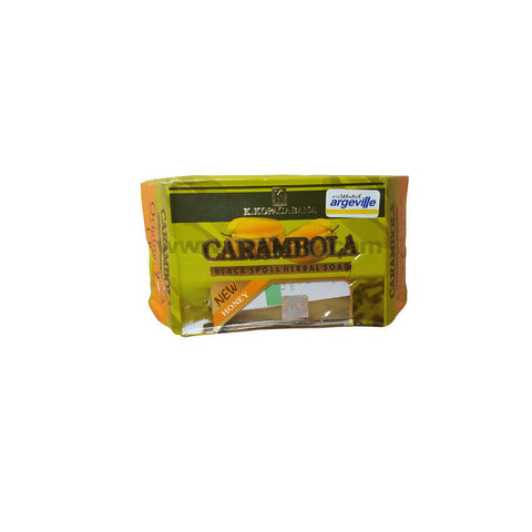 K.Kopacabana Carambola Black Spots Herbal Soap