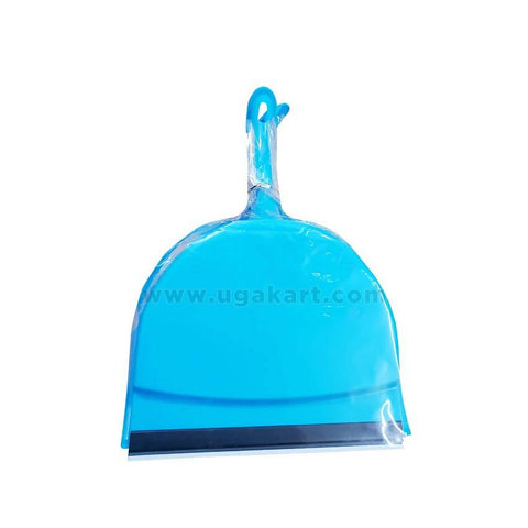 Dustpan With Brush-Blue