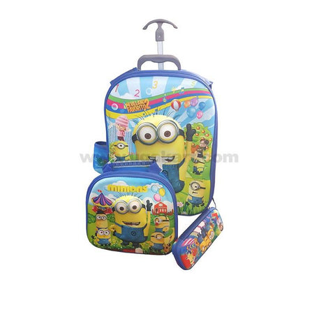 Minons Kids Bag Set of 3