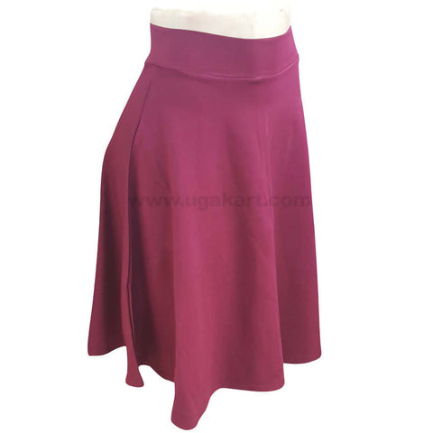 Women's Skirt Maroon