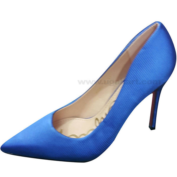 Blue High Heel Shoe For Women
