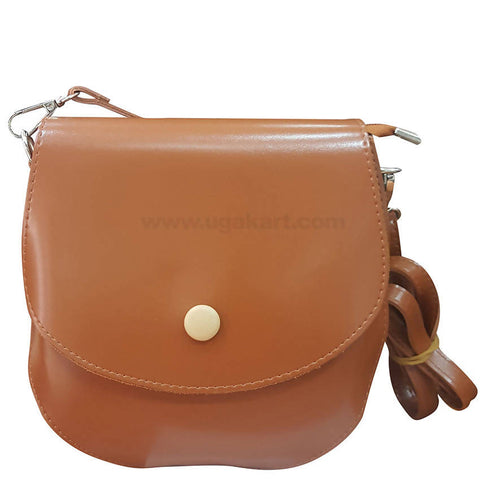 Brown Ladies Cross Bag