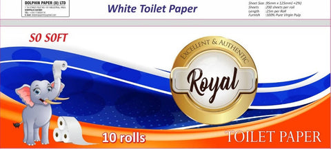 ROYAL Toilet Paper 10 Rolls
