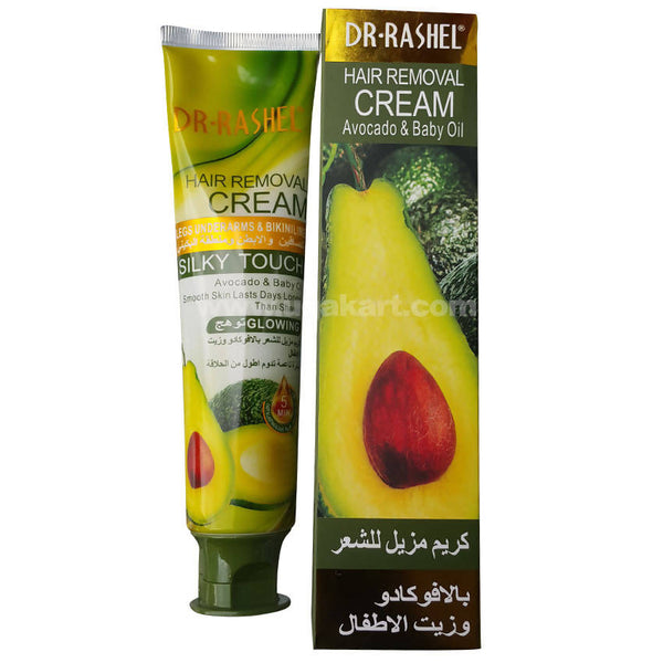 Dr. Rashel Hair Removal Cream Avocado & Baby Oil