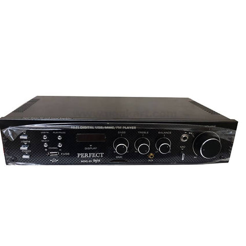 PERFECT AMPLIFIER Hi-Fi Digital USB/MMC/FM Player VOLTAGE-220V-240V