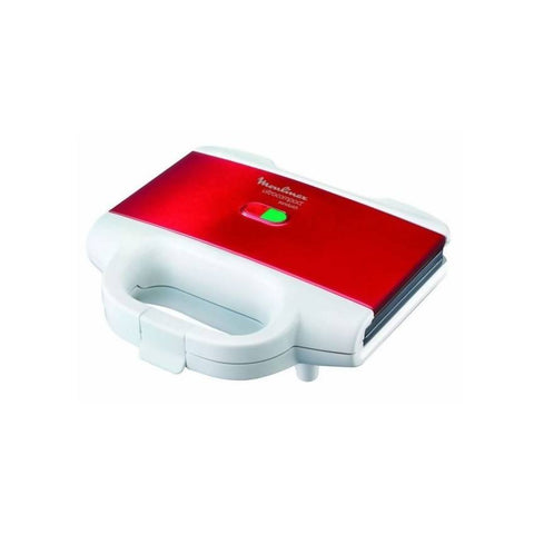 Moulinex Ultracompact Sandwich Maker With Indicator Light - SM156843_White