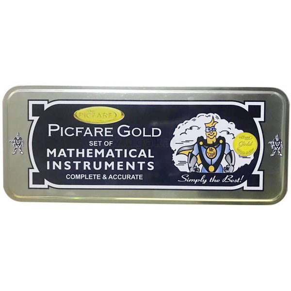 PicFare Gold Mathematical Instruments
