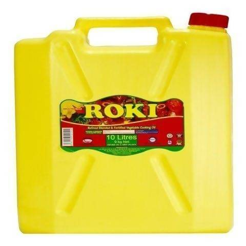 ROKI VEGETABLE COOKING OIL - 10LTR