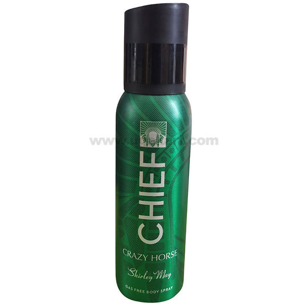 Shirley May Chief Crazy Horse Gas Free Body Spray_200ML